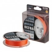 Леска плетёная AKKOI MASK ULTRA X4-110 (orange) d 0,16mm