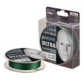 Леска плетёная AKKOI MASK ULTRA  X4-110 (green) d0,18mm